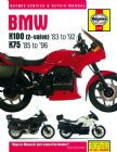 BMW K100 & 75 2-valve Models (83 - 96) Haynes Manual